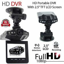 "2X2.5"" HD Dashcam Camera Car Go Cam DVR Video Pro Mic Recorder Traffic SUV Truck"