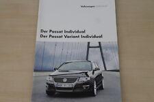 175949) VW Passat + Variant - individual - Prospekt 02/2006