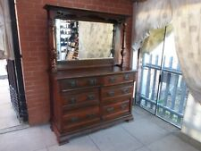 An Antique Mahogany Six Draw Sideboard  **DELIVERY AVAILABLE**