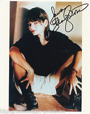 LAURA SAN GIACOMO AUTOGRAPHED SIGNED 8X10 COLOR PRESS PHOTO SEXY POSE