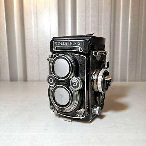 1959 Rolleiflex 3.5 F Model 1 Working Order 6x6 Medium Format Camera