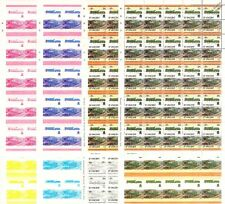 1928 GWR Hagley Hall Class Train Progressive Proof 50-Stamp Sheets x 8 (Imperf)