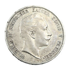 Pièce Argent Allemagne 5 Mark Guillaume II 1907 Wilhelm II Germany Silver Coin