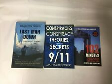 3x 9/11 Books 102 Minutes Last Man Down Conspiracy Theories & The Secrets