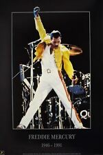 Freddie Mercury Vintage 1991 Tribute Poster 23.5 x 34.5