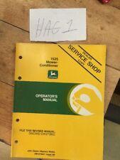 John Deere 1525 Mower Conditioner Operators Manual Ome75021