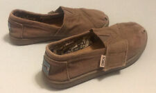 TOMS childrens shoes size 10