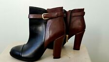 Ivanka Trump Womens  Leather Ankle Boots, Size US 7M
