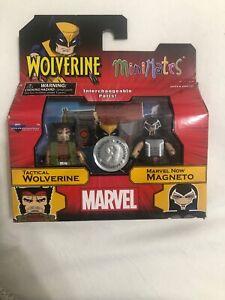 Marvel Minimates Tactical Wolverine & Marvel Now Magneto TRU Series 23 X-Men New