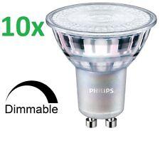 10 X Philips Master DEL spot gu10 projecteur 4,9-50w froid 4000k variateur 60d Large