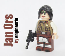 LEGO Custom - Jan Ors - Star Wars minifigures Rebel Pilot