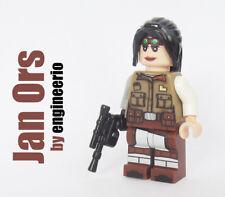 Custom Jan Ors Star Wars minifigures Rebel Pilot kyle katarn jedi lego bricks
