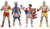 Rocky Balboa 40th Anniversary Series 2 Ivan Drago Apollo Creed Action Figur NECA