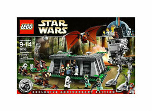 LEGO Star Wars The Battle of Endor 8038 AT ST 12 minifig Leia Chirpa wicket NEW