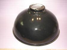 Joli ancien abat-jour, lustre, tôle émaillée, diamètre : 53,5 cm, usine, loft