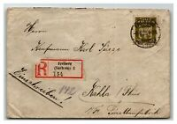 Germany 1925 Official Registered Cover  - Z13950