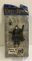 2003 Toybiz Lord of The Rings Return of The King Pippin In Armor Action Figure