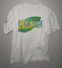 LIPTON ICE TEA Brisk Pureleaf lrg T shirt Power of Three tee 2008 logo Scotland