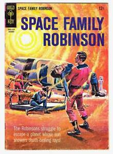 1965 Gold Key comic SPACE FAMILY ROBINSON #14 - Fine condition - LOST IN SPACE