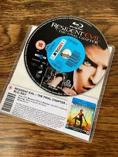 Resident Evil: The Final Chapter Blu Ray * DISC ONLY * Jovovich Anderson Horror