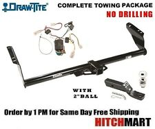 """FITS 2004-2010 TOYOTA SIENNA VAN CLASS 3 TRAILER HITCH PACKAGE w 2"""" BALL   75237"""