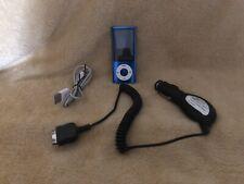 Apple iPod Nano 5th Generation Blue 8GB Fully Working Good Battery