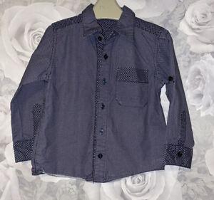 Boys Age 2- 3 Years - Next Long Sleeved Shirt