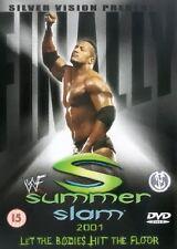 WWE Summerslam 2001 SV DVD orig WWF wrestling Austin vs Angle