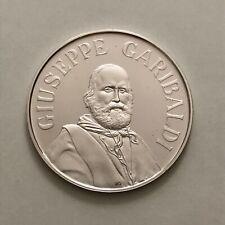 M95)) PP Gedenkmedaille Giuseppe Garibaldi 1882-1982, Silber 925