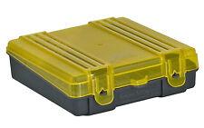 Ammo Case Ammunition Box Carry Storage Handgun Pistol 9mm .380ACP Bullets x 100