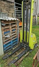 More details for pramac gx12/35 electric pallet stacker 3500mm 1200kg spares or repair