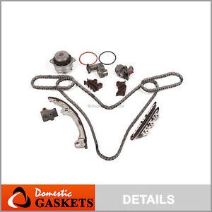 Fit 01-04 Nissan Pathfinder Infiniti QX4 3.5L Timing Chain Water Pump Kit VQ35DE