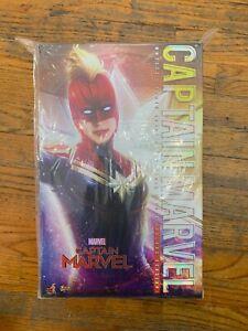 Marvel Hot Toys CAPTAIN MARVEL MMS 522 DELUXE 1/6 Avengers endgame NO RESERVE!