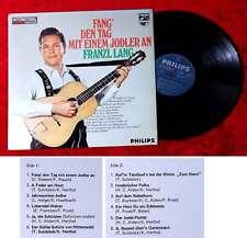 LP Franzl Lang: Fang den Tag mit einem Jodler an (Philips 870 011 BFY) NL 1968