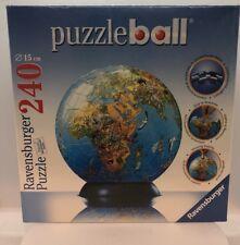 World Globe Puzzle Ball 240 Pieces  Ravensburger