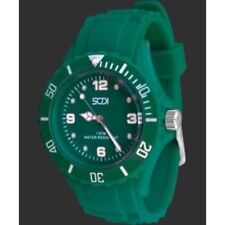 New Green Teal Unisex Mens Womens Silicone Rubber Sports Watches Outdoor Watch