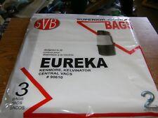 SVB Eureka Central Vacuum (3) Vacuum Bags New.