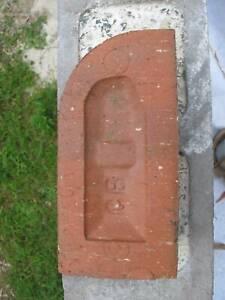 canberra red brick bullnose brick