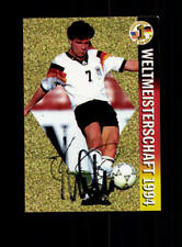 Andreas Möller Deutschland Panini Card WM 1994 Original Signiert+ A 182345