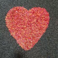 IKEA LOVE HEART RAG RUG MAT