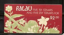 Palau, SC # 133b  Indigenous Flowers, Koror Overprinted . MNH