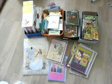 Lot Cartes Anniversaire 13Kg 400 PAQUETS NEUF+ENVELOPPE BLISTER Disney Mariage