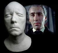 Christopher Lee Life Mask With Neck Dracula Hammer Star Wars Lord of the Rings