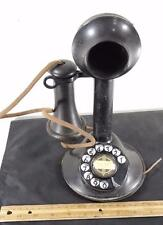 Antique AUTOMATIC ELECTRIC DIAL CANDLESTICK TELEPHONE !