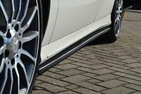 CUP-S Seitenschweller Schweller aus ABS für Mercedes A-Klasse W176 mit AMG-Line