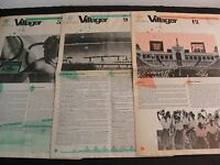 1984 Los Angeles Olympics- Set of (3) Villager Bulletin Board Newspapers. RARE!