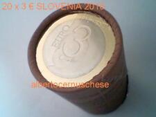 roll 20 x 3 euro 2010 SLOVENIA SLOVENIE Slovenja eslovenia Словения UNESCO