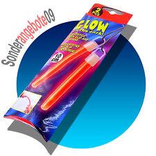 2 x KNICKLICHTER in rot 10cm Glowsticks Leuchtstäbe Knicklicht Leuchtstab