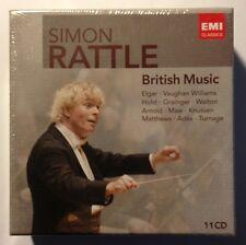 SIMON RATTLE: British Music - MINT NEW SEALED 11-CD BOX SET!!