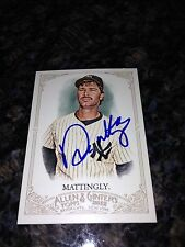 Don Mattingly Yankees Signed 2012 Topps Allen & Ginter Card IP COA